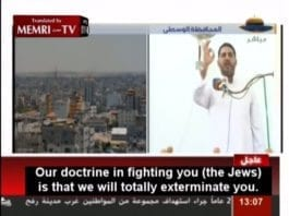 (Skjermdump fra Al-Aqsa TV, via Memri.)