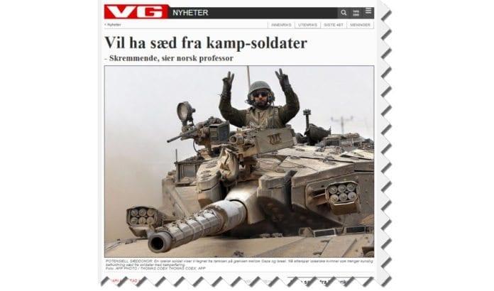 Skjermdump fra Vg.no 19. august 2014.