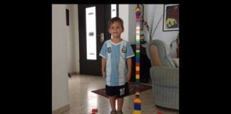 Fire år gamle Daniel Tregerman ble fredag kveld drept i et granatangrep fra Gaza. (Foto: Privat)