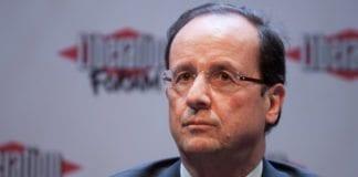 Frankrikes president Francois Hollande. (Foto: Matthieu Riegler / Wikimedia Commons)