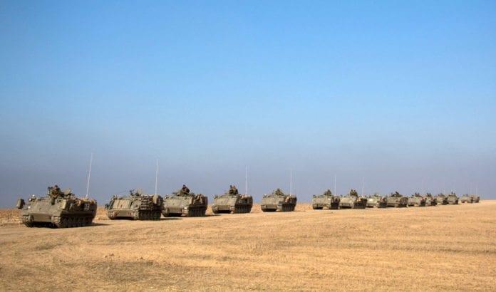 Det israelske forsvarets mannskaper er nå utenfor Gaza. (Foto: IDF / Flickr.com)
