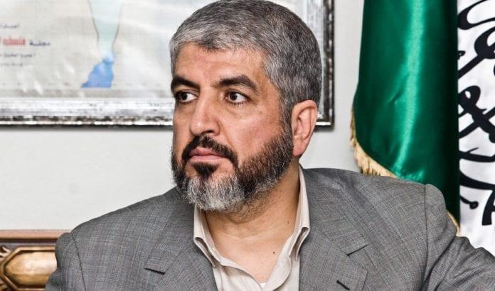 Hamas-leder Khaled Mashaal høster popularitet på Vestbredden. (Foto: Wikimedia Commons)