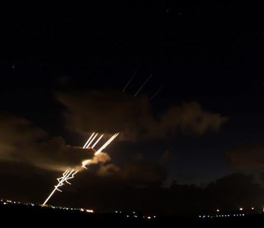 Tre raketter er avfyrt mot Israel. To av dem ble skutt ned av rakettforsvaret Iron Dome. (Arkivfoto: IDF)