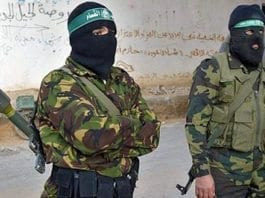 Våpnede terrorister i Gaza. (Illustrasjonsfoto: Proisraeli / Flickr.com)