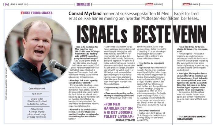 Faksmile fra Dagbladet lørdag 16. august 2014.