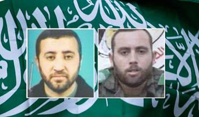 Disse to var terrorledere på svært høyt nivå i Hamas. De ble drept natt til torsdag i et israelsk luftangrep. (Foto: Israel Security Agency)