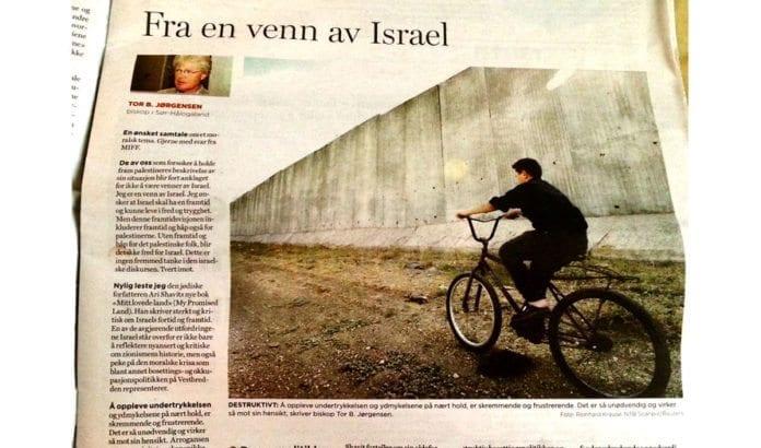 Faksmile av Dagen 14. august 2014.