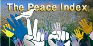 """Fredsindeksen"" er en månedlig meningsmåling om israelernes innstilling til aktuelle spørsmål. (Foto: Peaceindex.org)"