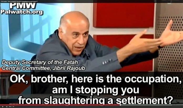 En av topplederne innen Fatah oppfordrer på TV til å