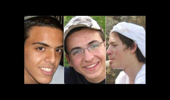 De tre israelske tenåringsguttene Naftali Frankel, Gil-ad Shaar og Eyal Yifrach ble kidnappet og drept 12. juni 2014. (Foto: Privat)