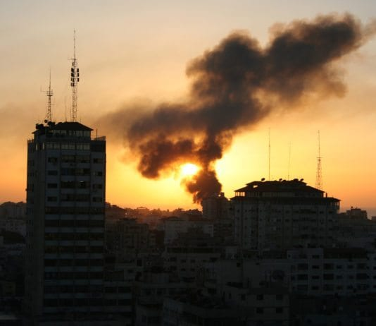 Illustrasjonsbilde fra Gaza-krigen i 2009. (Foto: Al Jazeera English, flickr.com)