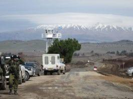 Bildet er fra den israelske siden av grenseovergangen Quneitra mot Syria på Golan-høydene. (Illustrasjonsfoto: IDF / Flickr.com)
