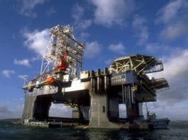 Plattform for gassproduksjon i Tamar-feltet, nabofeltet til Leviathan. (Illustrasjonsfoto: Hibr / Flickr.com)