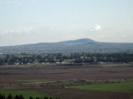 Utsikt over grensen mot Syria fra de israelske Golan-høydene. (Illustrasjonsfoto: IDF)