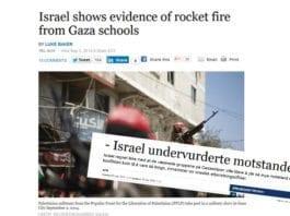 Mens Reuters laget overskrift om Israels bevis, laget NTB overskrift om Israels feilvurderinger. (Foto: Skjermdump fra Reuters og Stavanger Aftenblad)