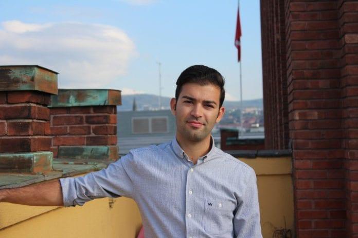 AUF-leder Mani Hussaini. (Foto: Runar Kjellstad Nygård)