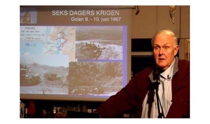 Hans Petter Grønvold. (Skjermdump fra video)