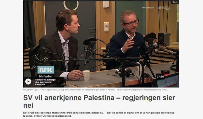 Skjermdump fra Nrk.no 20. oktober 2014.