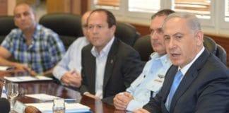 Netanyahu lovet i dag ekstra ressurser for å gjenopprette ro og orden i hele Jerusalem. (Foto: GPO)
