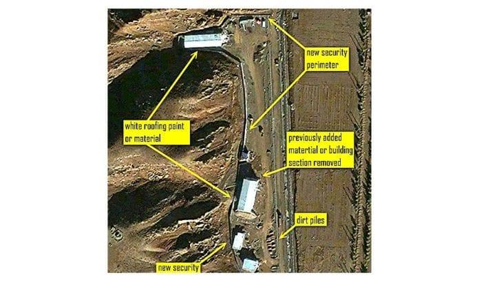Satellittbilde av Parchin i 2012. (Photo: ISIS nettsted)