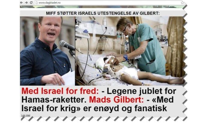 Skjermdump fra Dagbladet 14. november 2014.