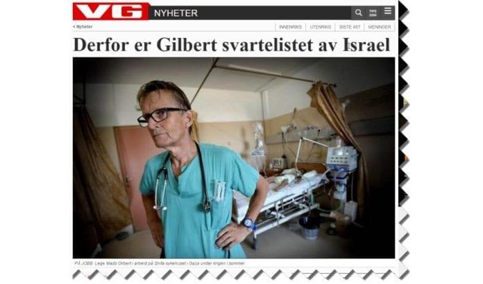 Skjermdump fra Vg.no 21. november 2014.