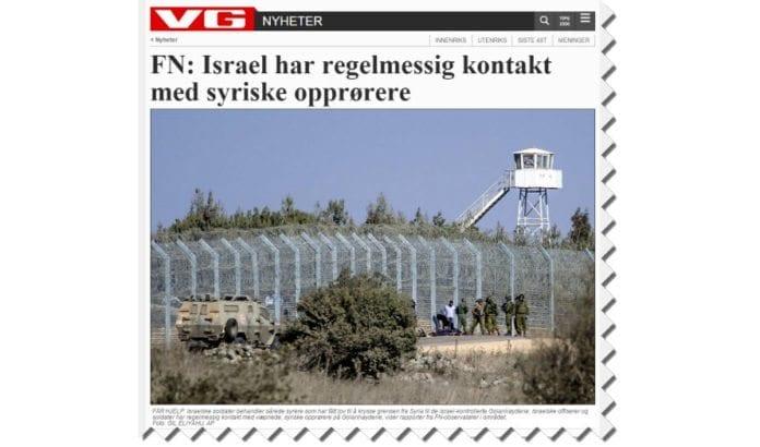 Skjermdump av NTB-artikkelen slik den er publisert på VG Nett.