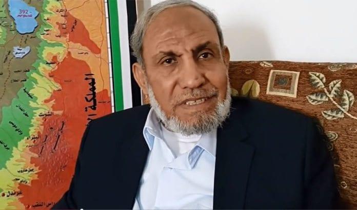 Mahmoud Al-Zahar påstår at Donald Trump er jøde. (Foto: Skjermdump fra YouTube, ikke fra intervjuet som er omtalt i saken)