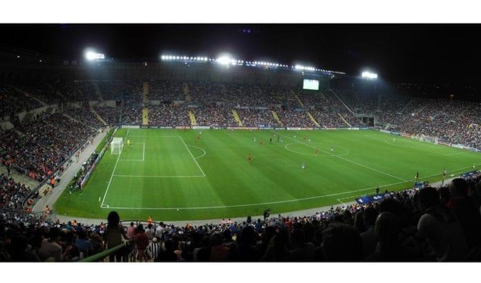 Teddy Stadium i Jerusalem var planlagt åsted for terrorangrep av Hamas. (Illustrasjonsfoto: Wikimedia Commons)