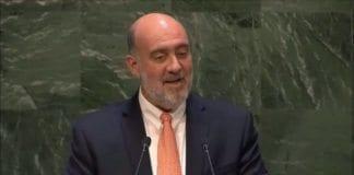 Israels FN-ambassadør Ron Prosor.