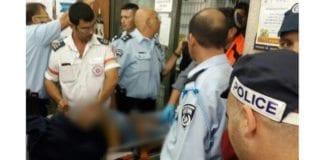 Her hentes terrorofrene i supermarkedet av ambulansepersonell. (Foto: Magen David Adom)