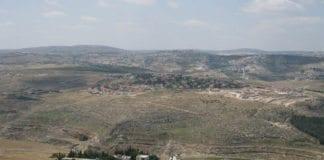 Utsikt over Tekoa, som ble forsøkt terrorngrepet tirsdag. (Illustrasjonsfoto: Wikimedia Commons)