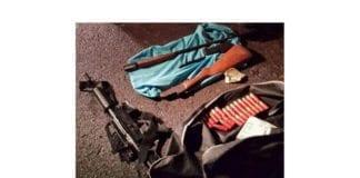Terroristene som ble arrestert var i besittelse av disse våpnene og bombematerialene. (Foto: Shin Bet)