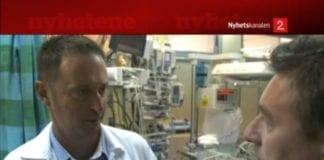 TV2 satte lørdag fokus på israelske legers iherdige frivillige innsats for å redde hjertesyke barn i Gaza. (Foto: Skjermdump fra TV2)