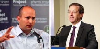 Naftali Bennett og Isaac Herzog. (Foto: The Israel Project og Brookings Institution)