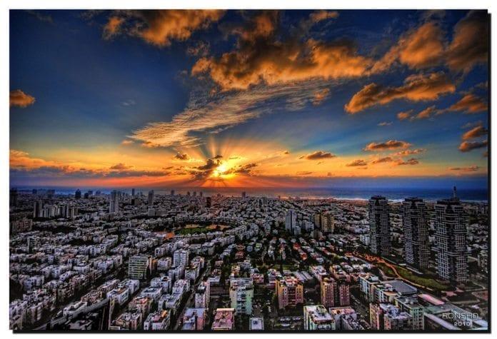 Tel Aviv. (Illustrasjonsfoto: Ronsho, flickr)