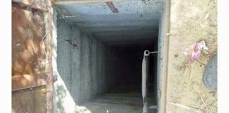 Her er inngangen til en av terrortunnelene som ble funnet i Gaza sommeren 2014. (Illustrasjonsfoto: IDF / Flickr.com)