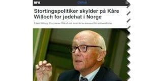 Skjermdump fra Nrk.no 17. februar 2015.