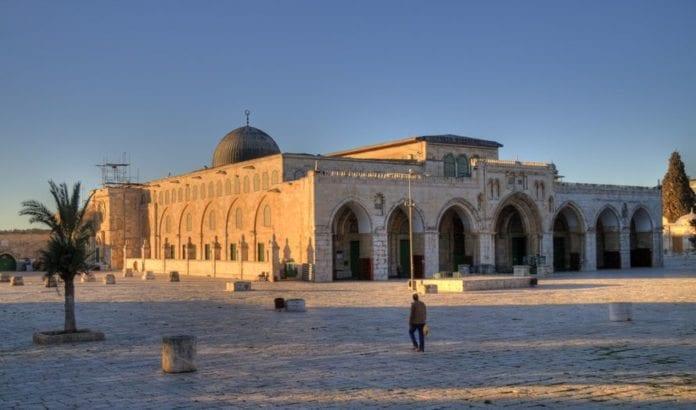 Al-Aqsa moskeen på Tempelhøyden. (Illustrasjonsfoto: Reway2007 / Flickr.com / CC)