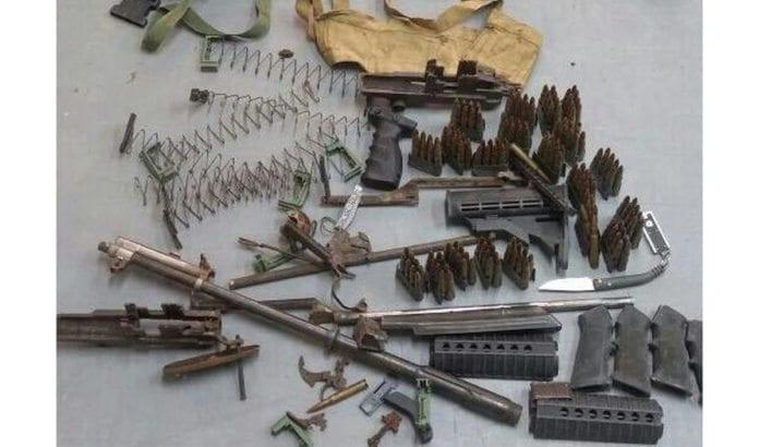 Litt av beslagene som ble gjort hos Hamas-aktivister på Vestbredden denne uken. (Foto: IDF)