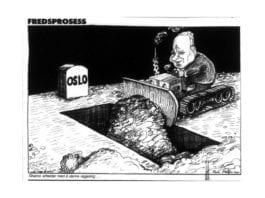 Karikatur VG 14.02.2001.