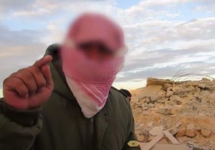 Skjermdump fra videoen publisert av Welayat Sinai.