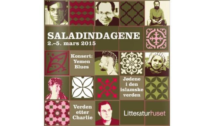 Forsiden av programheftet til Saladindagene 2015.