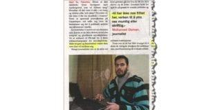 Faksmile fra Ny Tid 27. februar 2015.