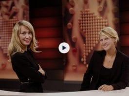 Hege Moe Eriksen og Gry Blekastad Almås er programledere for NRK Urix. (Skjermdump fra NRK)