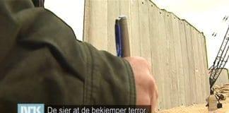 Gideon Levy fremmet harde, uimotsagte påstander i Urix tirsdag 3. mars 2015. (Foto: Skjermdump fra NRK)