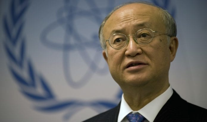Det internasjonale atomenergibyråets generaldirektør Yukiya Amano. (Foto: IAEA)