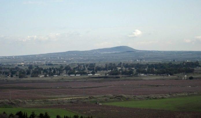 Utsikt over grensen mellom Israel og Syria på Golan-høydene. (Illustrasjonsfoto: IDF)