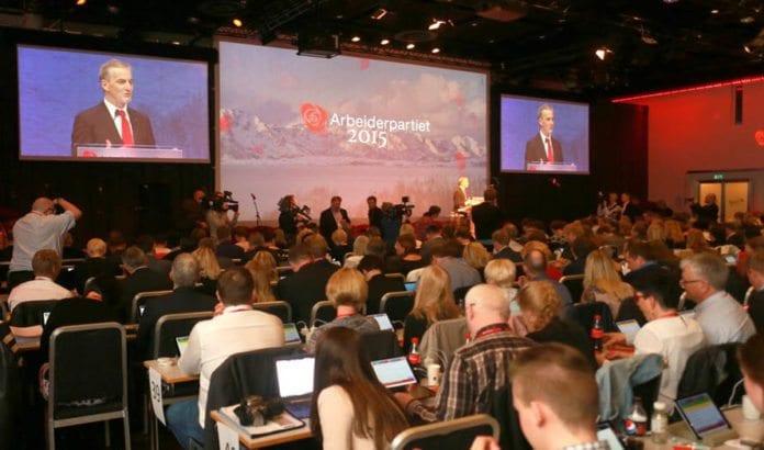 Arbeiderpartiets landsmøte pågår denne helgen. (Foto: Arbeiderpartiet.no)