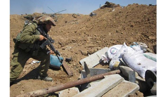 IDF avdekker en terrortunnel i Gaza. (Illustrasjonsfoto: IDF / Flickr.com)